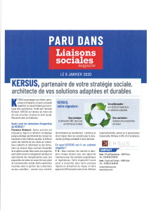 Liaisons Sociales - Janvier 2020